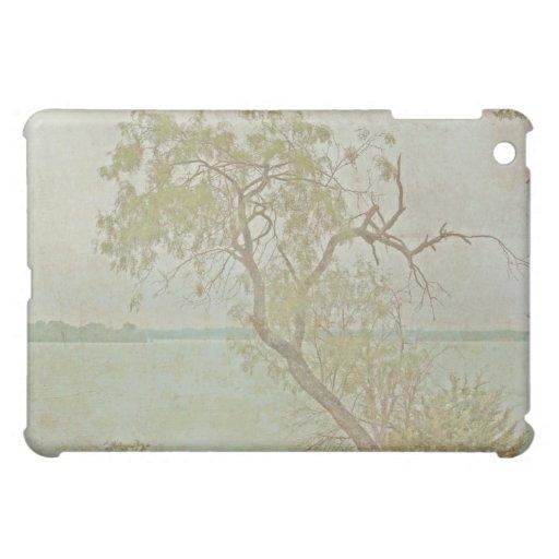 Caso del iPad de la foto de la escena de la natura