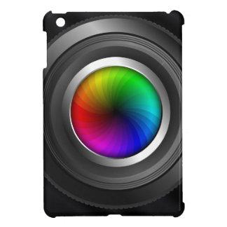 Caso del iPad de la fotografía de la lente de
