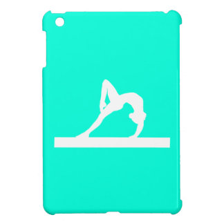 Caso del iPad de la gimnasia de la turquesa mini iPad Mini Cárcasas