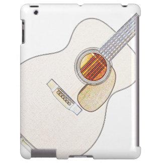 Caso del iPad de la guitarra acústica Funda Para iPad