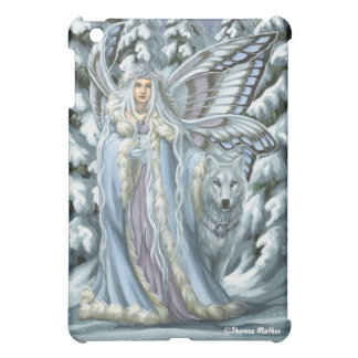 Caso del iPad de la hada y del lobo del invierno