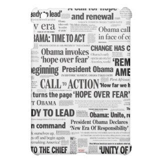 Caso del iPad de la inauguración de Obama