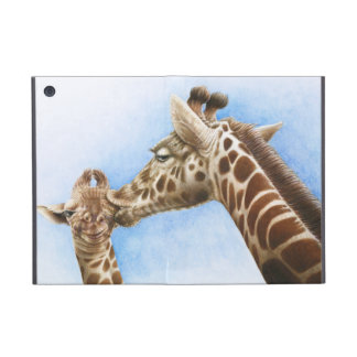 Caso del iPad de la jirafa y del becerro iPad Mini Carcasa