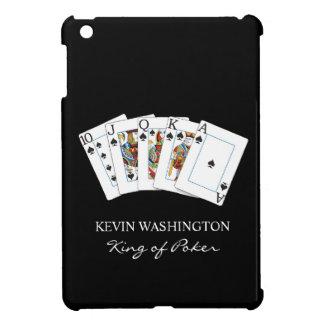 Caso del iPad de la mano de póker mini