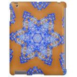 Caso del iPad de la margarita azul