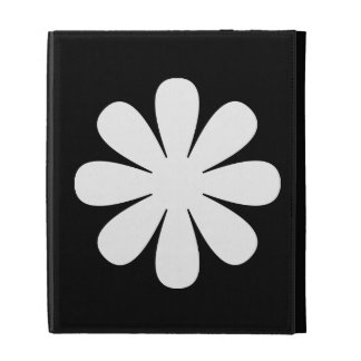 Caso del iPad de la margarita blanca
