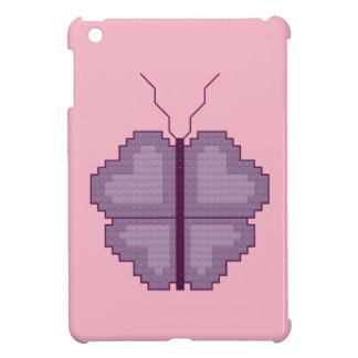 Caso del iPad de la mariposa del corazón mini