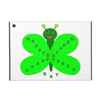 Caso del iPad de la mariposa del día de Patricks d iPad Mini Cárcasas