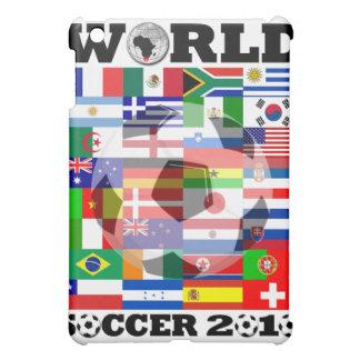 Caso del iPad de la mota del fútbol 2010 del mundi