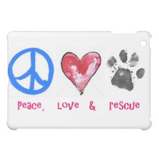 caso del iPad de la paz, del amor y del rescate