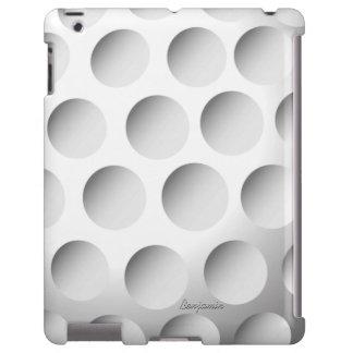 Caso del iPad de la pelota de golf Funda Para iPad