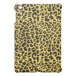 Caso del ipad de la piel de Jaguar