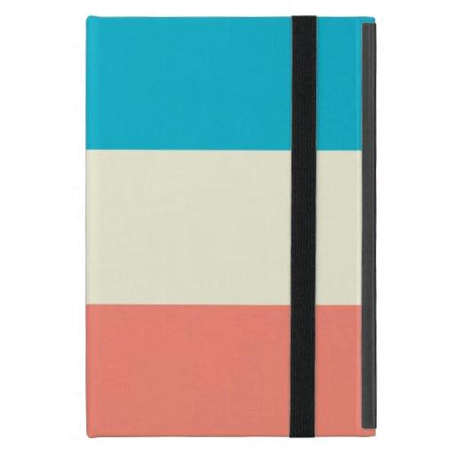 Caso del iPad de la raya de la moda mini iPad Mini Protector