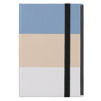 Caso del iPad de la raya de la moda mini iPad Mini Protectores