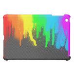 Caso del iPad de la salpicadura del arco iris