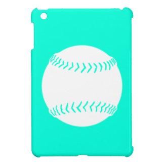 Caso del iPad de la silueta del softball de la tur