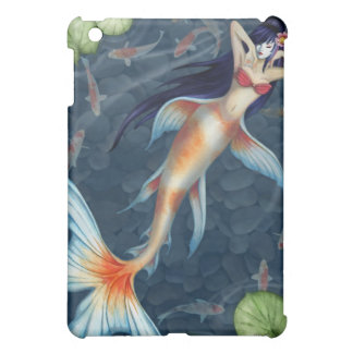 Caso del iPad de la sirena de Koi