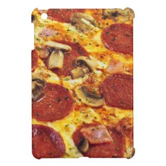 Caso del iPad de la textura de la pizza mini