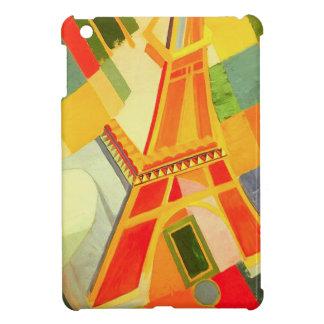Caso del iPad de la torre Eiffel de Roberto Delaun iPad Mini Coberturas