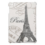 Caso del ipad de la torre Eiffel del vintage mini iPad Mini Cárcasas