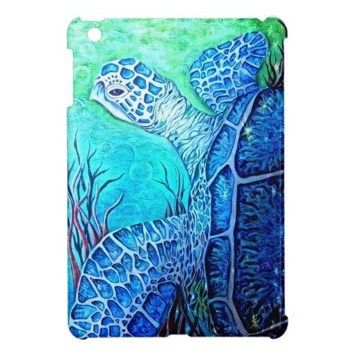 Caso del iPad de la tortuga de mar mini iPad Mini Coberturas