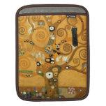 """Caso del iPad de la vida de Klimt del vintage """"árb Mangas De iPad"""