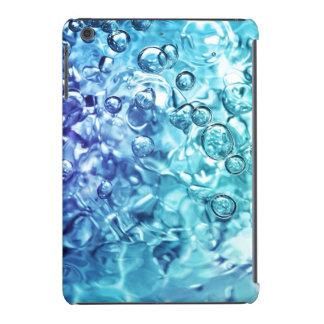 Caso del iPad de las aguas azules mini Funda De iPad Mini
