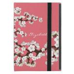 Caso del iPad de las flores de cerezo mini con Kic iPad Mini Cárcasa