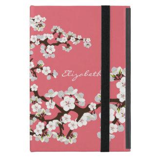 Caso del iPad de las flores de cerezo mini con Kic iPad Mini Coberturas