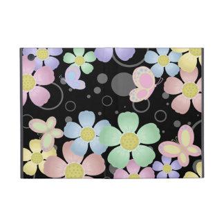 Caso del iPad de las flores y de las mariposas min iPad Mini Cárcasas