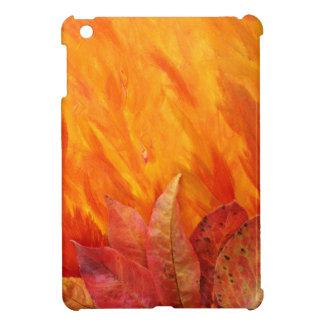 Caso del iPad de las hojas de otoño mini