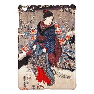 Caso del iPad de las mujeres de Kuniyoshi tres min iPad Mini Cobertura