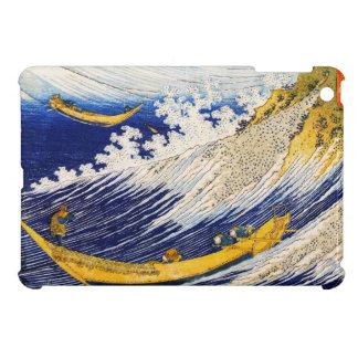 Caso del iPad de las olas oceánicas de Hokusai min