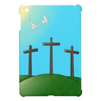 Caso del iPad de las palomas y de las cruces mini