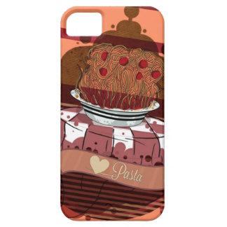 caso del iPad de las pastas del amor iPhone 5 Funda
