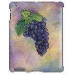 Caso del iPad de las uvas de vino rojo del pinot n