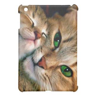 Caso del iPad de los amantes del gato mini