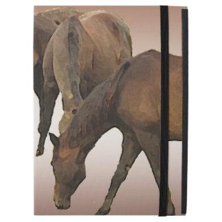 Caso del iPad de los caballos de Brown favorable