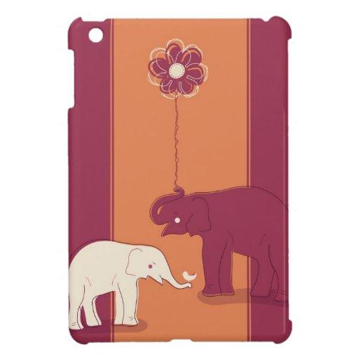 Caso del iPad de los elefantes mini