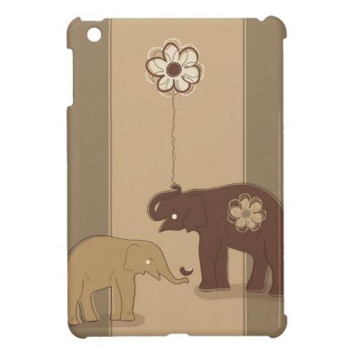 Caso del iPad de los elefantes mini iPad Mini Fundas