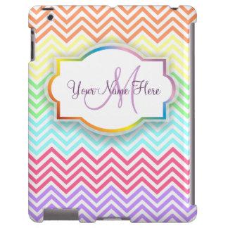 Caso del iPad de los galones del arco iris
