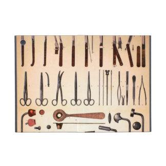 Caso del iPad de los instrumentos médicos del vint iPad Mini Coberturas