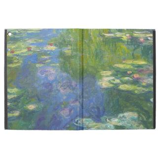 Caso del iPad de los lirios de agua de Monet