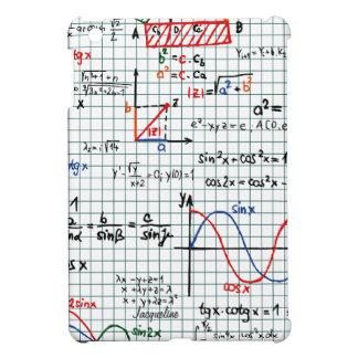 Caso del iPad de los números de fórmulas de la mat