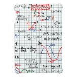 Caso del iPad de los números de fórmulas de la mat iPad Mini Cobertura