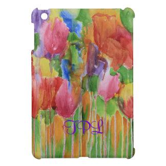 Caso del iPad de Palooza del tulipán mini