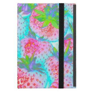 Caso del iPad de Powis de las fresas iPad Mini Funda