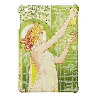 Caso del iPad de Robette del ajenjo de Alfonso Muc iPad Mini Funda
