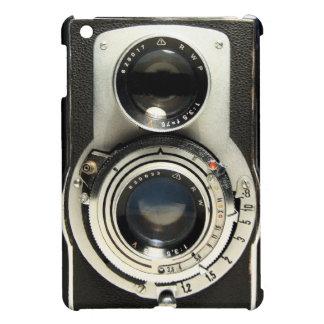 Caso del iPad de Rolleiflex de la cámara del vinta