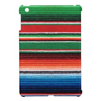 Caso del iPad de Sarape del mexicano mini
